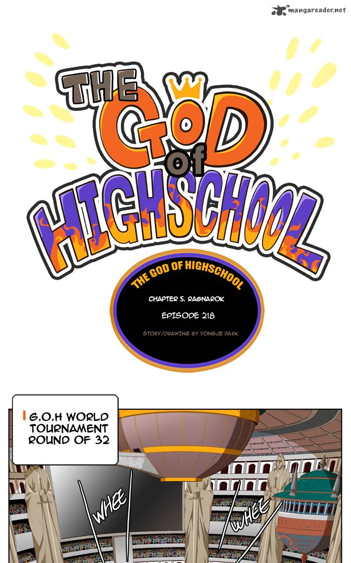 The God Of High School Chapter 218 Page 1