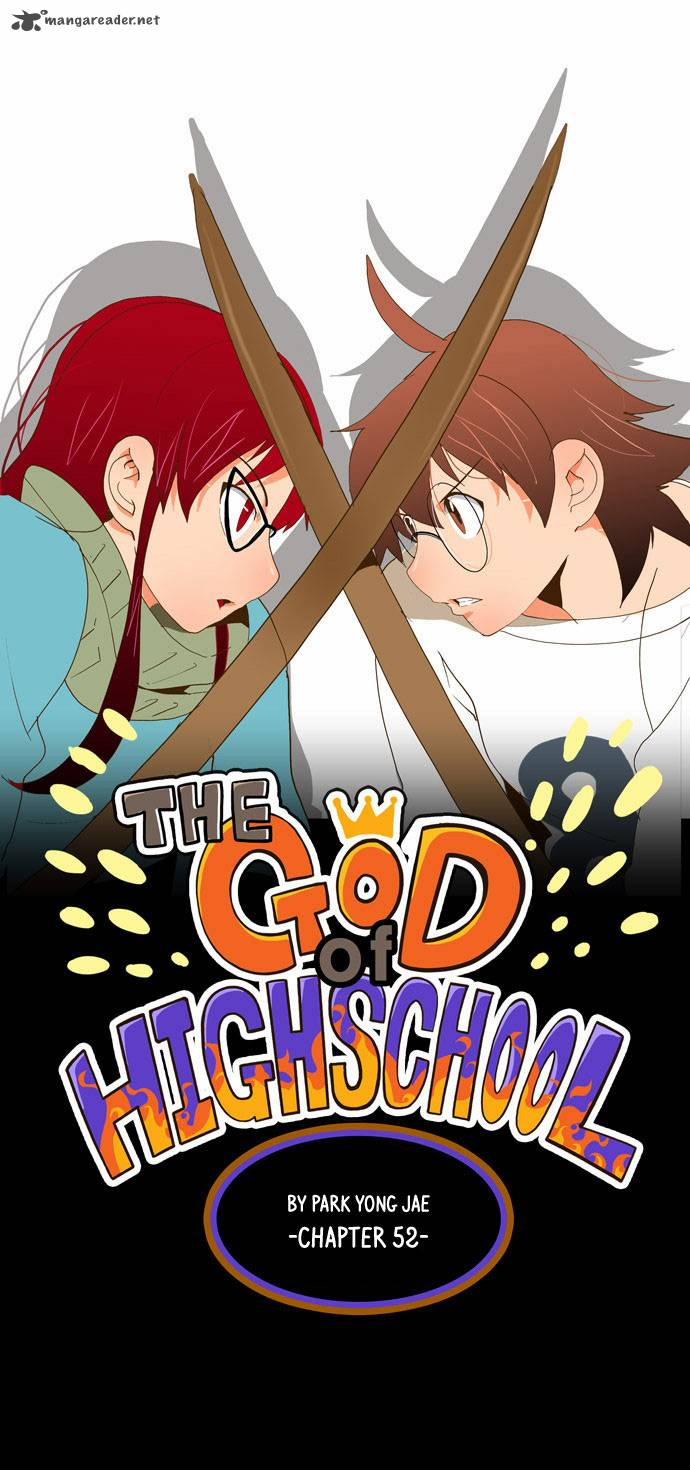 The God Of High School Chapter 52 Page 1