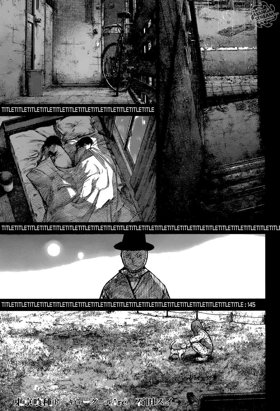 Tokyo Ghoulre Chapter 145 Page 1