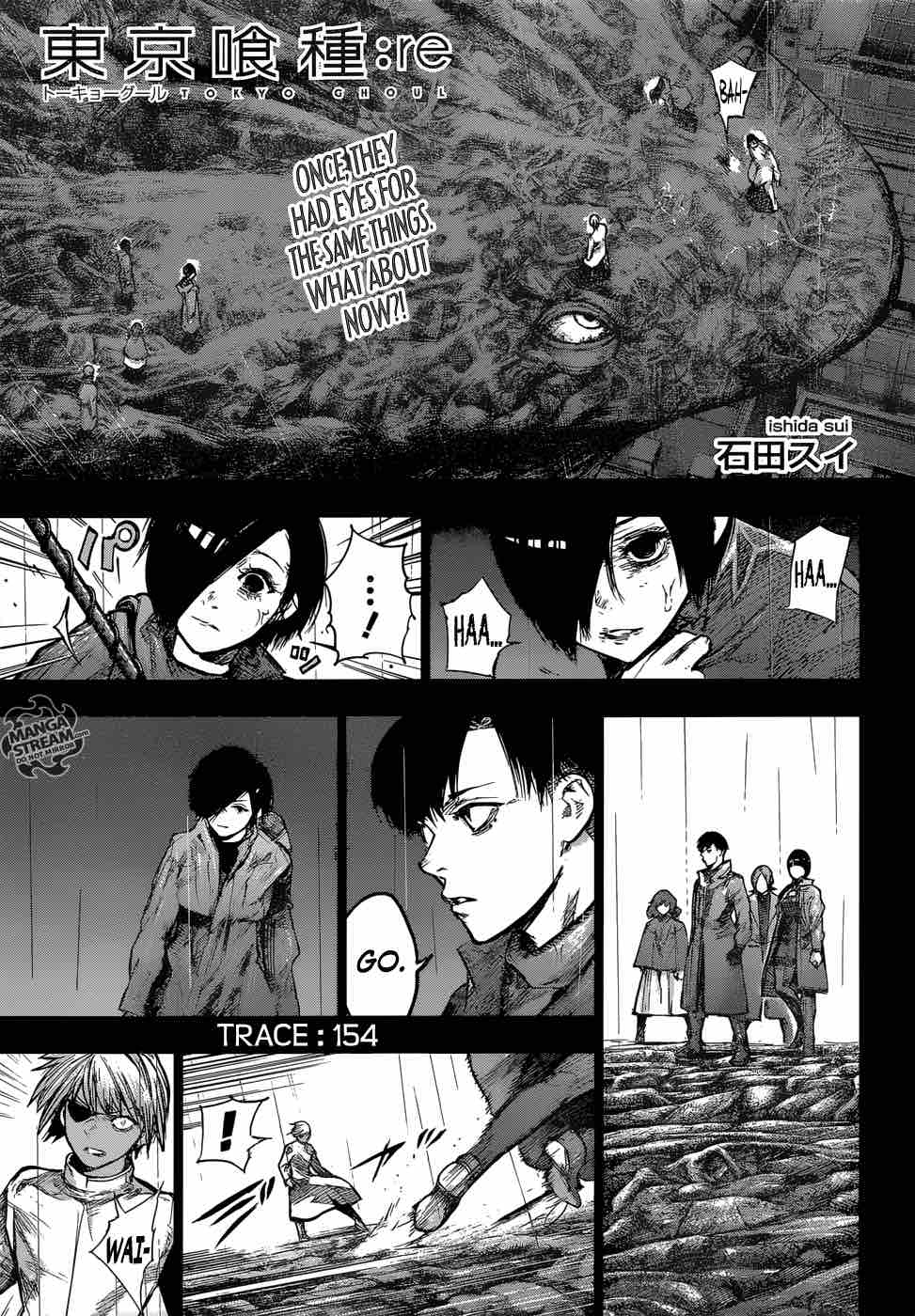 Tokyo Ghoulre Chapter 154 Page 1