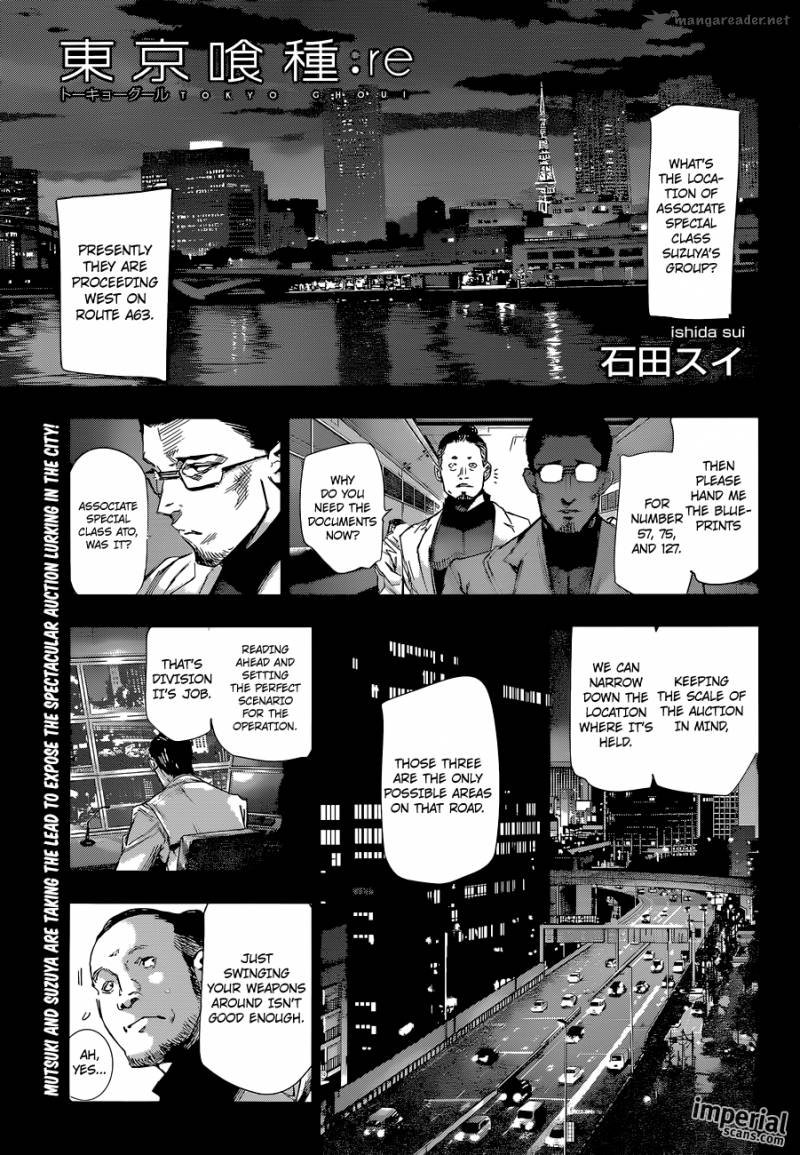 Tokyo Ghoulre Chapter 19 Page 1