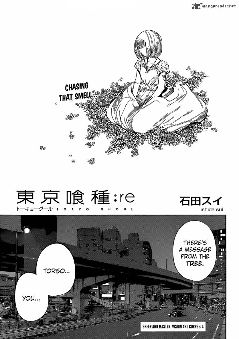 Tokyo Ghoulre Chapter 4 Page 1