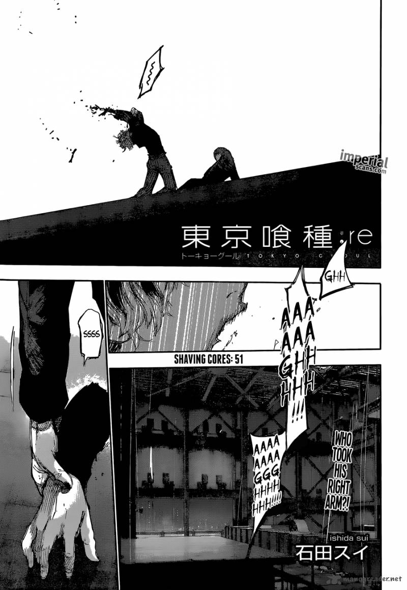 Tokyo Ghoulre Chapter 51 Page 1