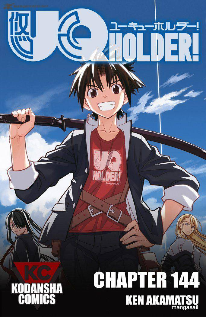 Uq Holder Chapter 144 Page 1